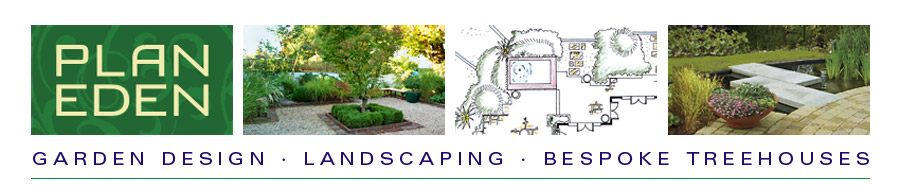 PLAN EDEN garden designers provide landscape design and maintenance services in urban Dublin and water features are often used to create a sense of space.